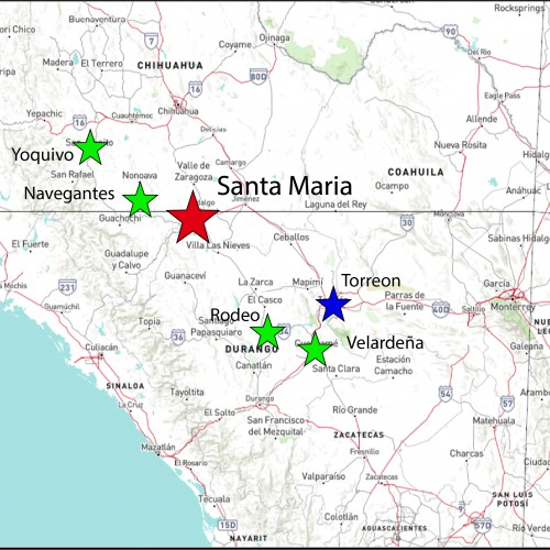 Santa Maria Location Map