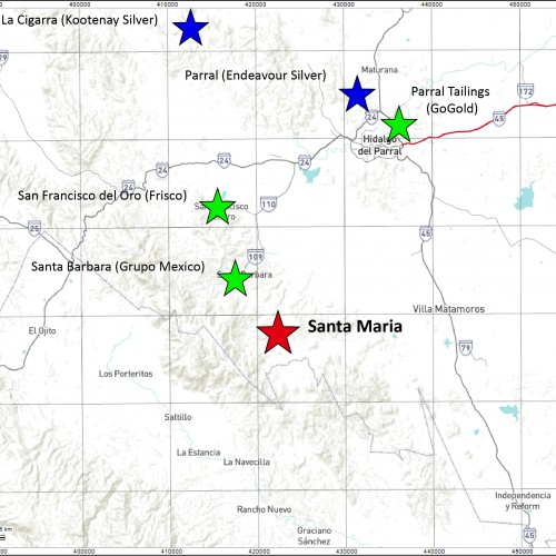 Santa Maria District Map