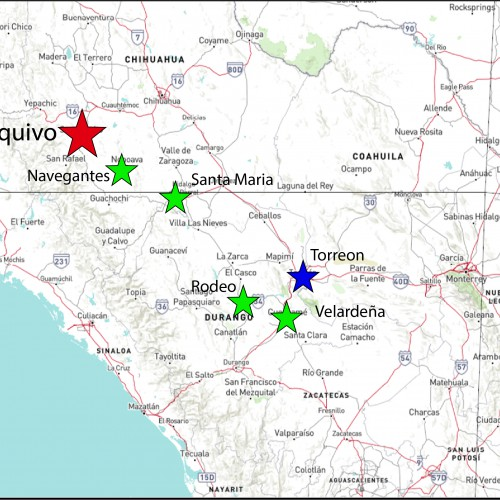Yoquivo Location Map
